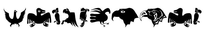 TribalBirdsTheMissingGap Font OTHER CHARS