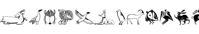 TribalDesignsOtto Font LOWERCASE