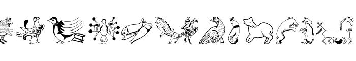 TribalDesignsSei Font UPPERCASE