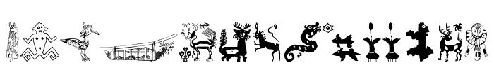 TribalDesigns_Tre Font UPPERCASE