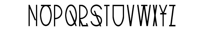 TribalType-Regular Font LOWERCASE
