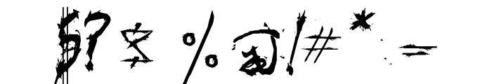 Triballaka Font OTHER CHARS