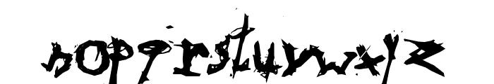 Triballaka Font LOWERCASE