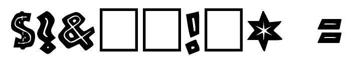 Tribeca Regular Font OTHER CHARS