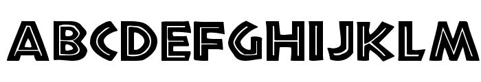 Tribeca Regular Font LOWERCASE