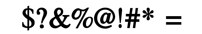 TribunADFStd-BoldCond Font OTHER CHARS