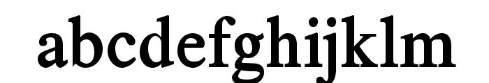 TribunADFStd-BoldCond Font LOWERCASE