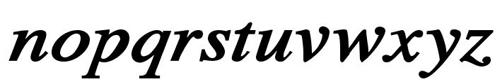 TribunADFStd-BoldItalic Font LOWERCASE