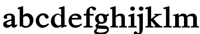 TribunADFStd-Bold Font LOWERCASE