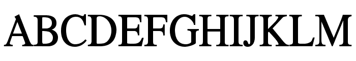 TribunADFStd-Cond Font UPPERCASE