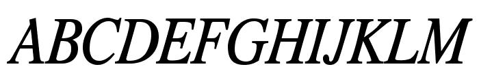 TribunADFStd-CondItalic Font UPPERCASE