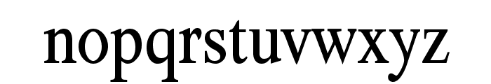 TribunADFStd-Cond Font LOWERCASE
