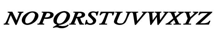 TribunADFStd-ExtraBoldItalic Font UPPERCASE