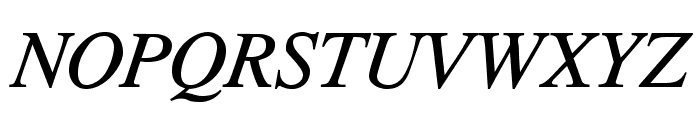 TribunADFStd-Italic Font UPPERCASE