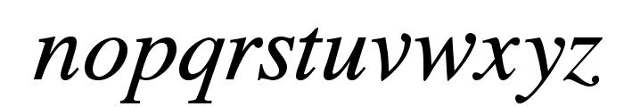 TribunADFStd-Italic Font LOWERCASE