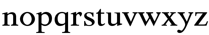 TribunADFStd-Medium Font LOWERCASE