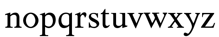 TribunADFStd-Regular Font LOWERCASE