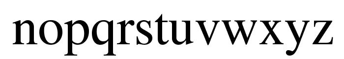 Tribune Regular Font LOWERCASE