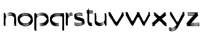Trilayered Font LOWERCASE