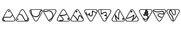 Trill Font UPPERCASE