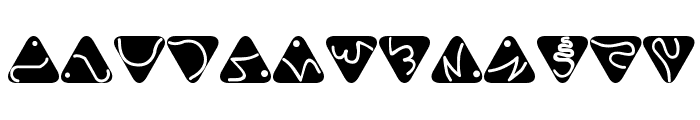 Trill Font LOWERCASE