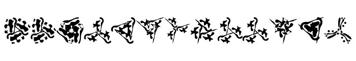 Trinsomnia Font UPPERCASE