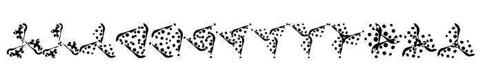 Trinsomnia Font LOWERCASE