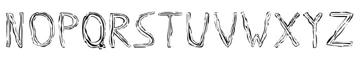 Triple Bypass Regular Font UPPERCASE