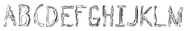 Triple Bypass Regular Font LOWERCASE