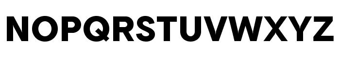 Tripleta-ExtraBold Font UPPERCASE