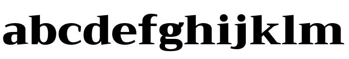 Trirong Black Font LOWERCASE