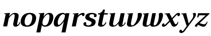 Trirong Bold Italic Font LOWERCASE