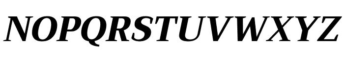 Trirong ExtraBold Italic Font UPPERCASE