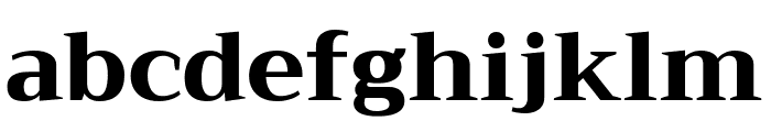 Trirong ExtraBold Font LOWERCASE