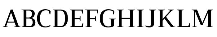 Trirong Medium Font UPPERCASE