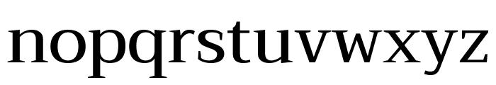 Trirong Medium Font LOWERCASE