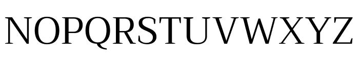 Trirong Regular Font UPPERCASE