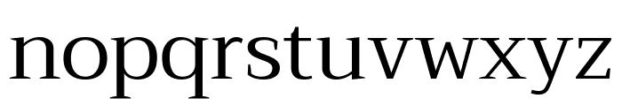 Trirong Regular Font LOWERCASE