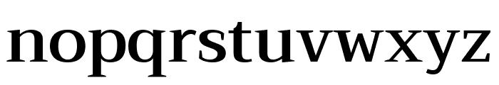 Trirong SemiBold Font LOWERCASE