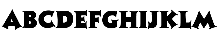 Tristan Regular Font UPPERCASE