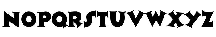 Tristan Regular Font LOWERCASE