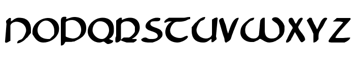 Tristram Bold Font UPPERCASE