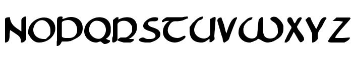 Tristram Bold Font LOWERCASE