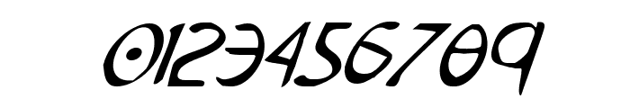 Tristram Condensed Italic Font OTHER CHARS