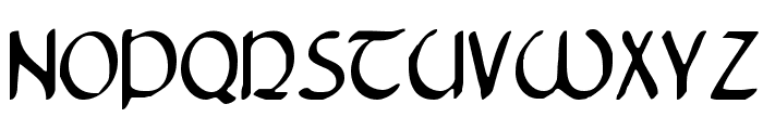 Tristram Condensed Font LOWERCASE