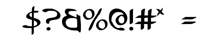 Tristram Font OTHER CHARS