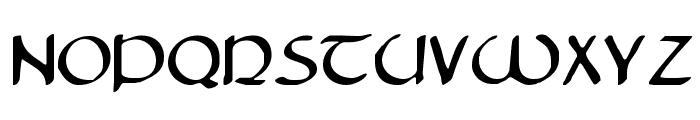 Tristram Font LOWERCASE