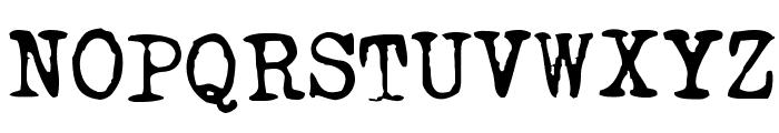 TriumphTippa regular Font UPPERCASE