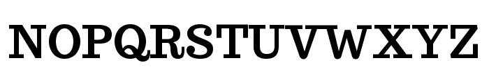 Trocchi-Bold Font UPPERCASE