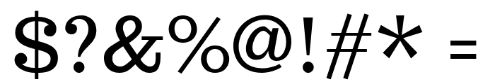 Trocchi Regular Font OTHER CHARS